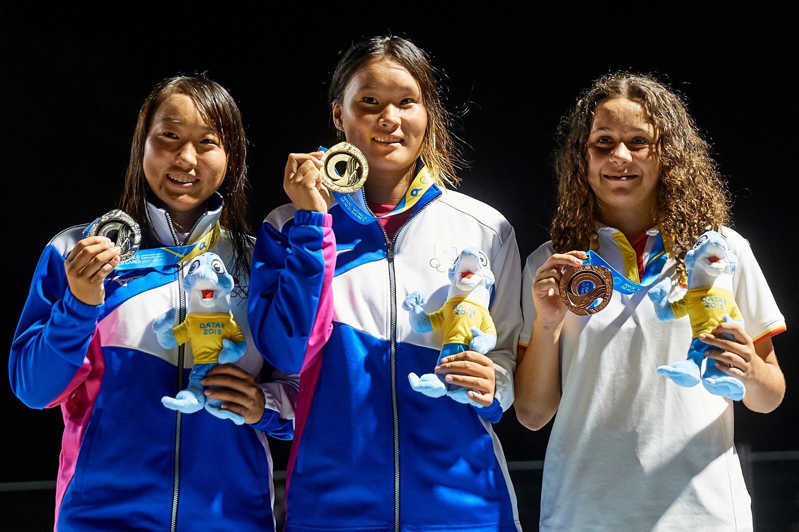 Julia Benedetti rumbo a las olimpiadas